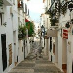 Calle casco antiguo de Altea – Altea old town street